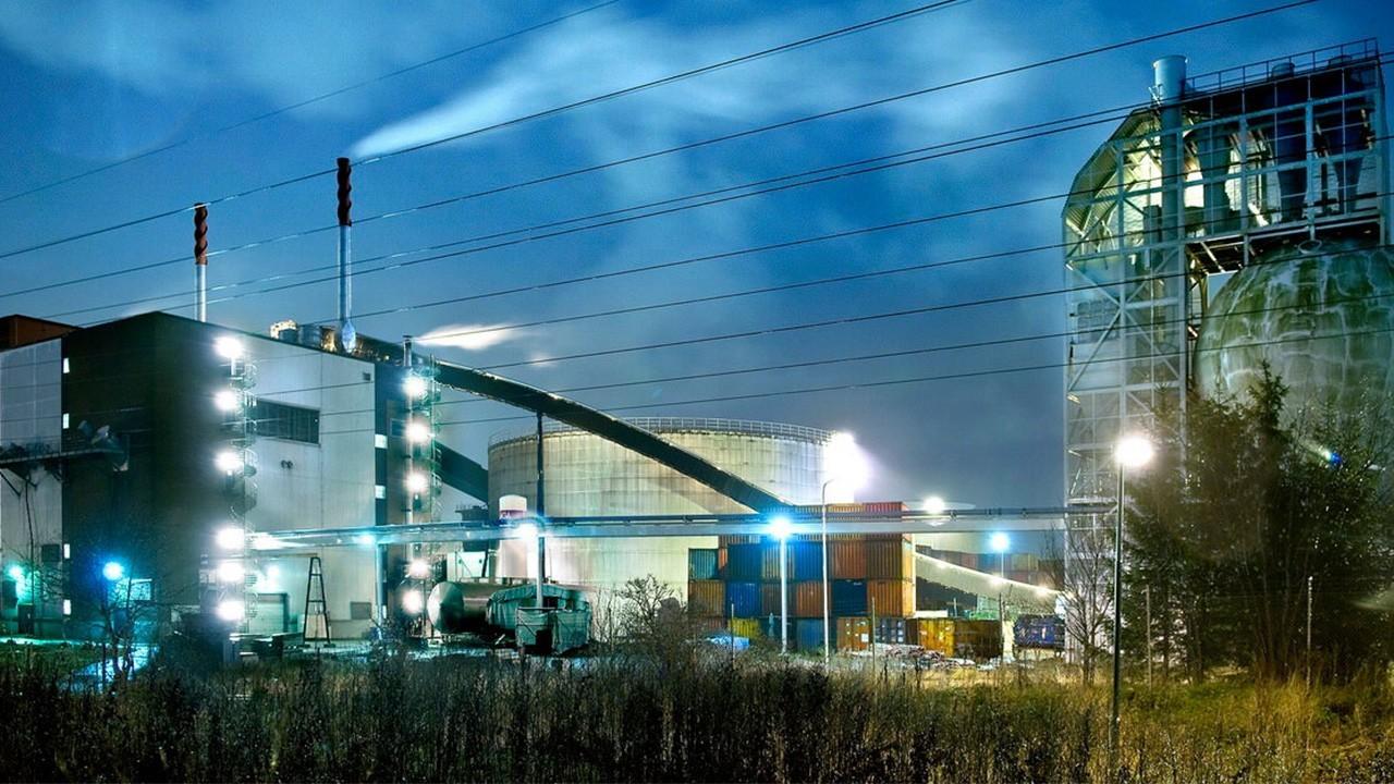 перерабатывающие заводы Швеции