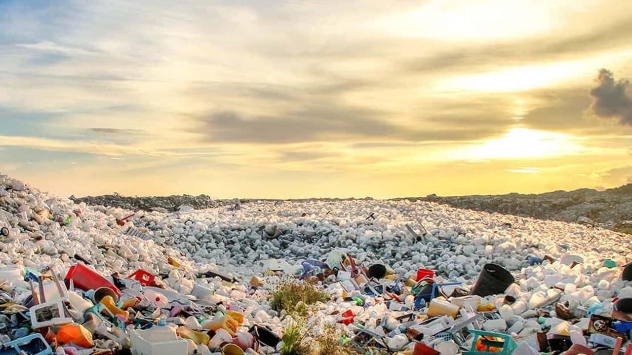 полигоны пластика