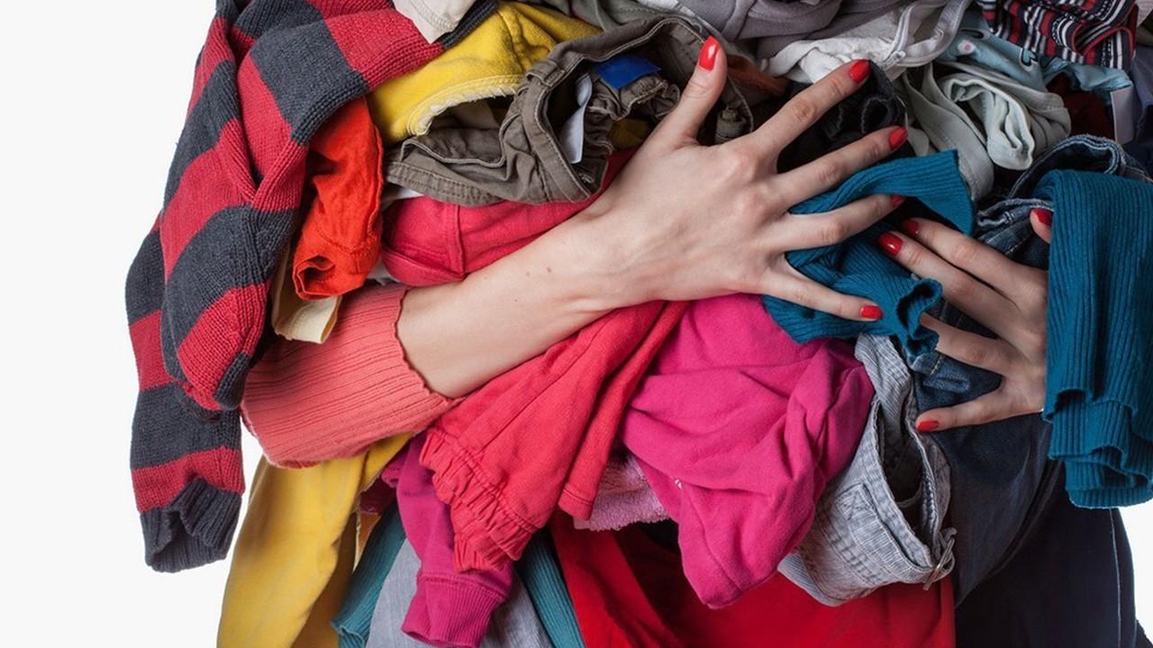 выброс текстильных остатков