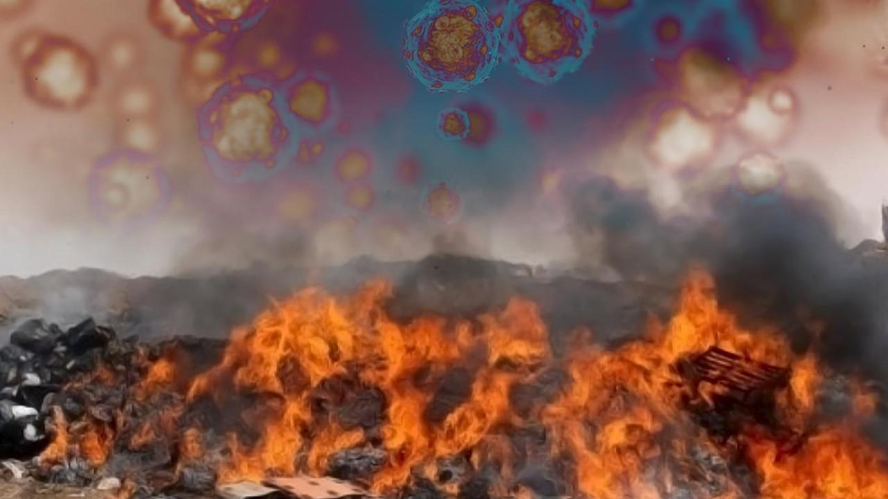 сжигание полимеров
