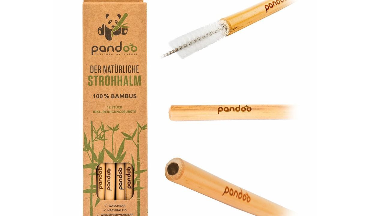 бамбуковые соломинки
