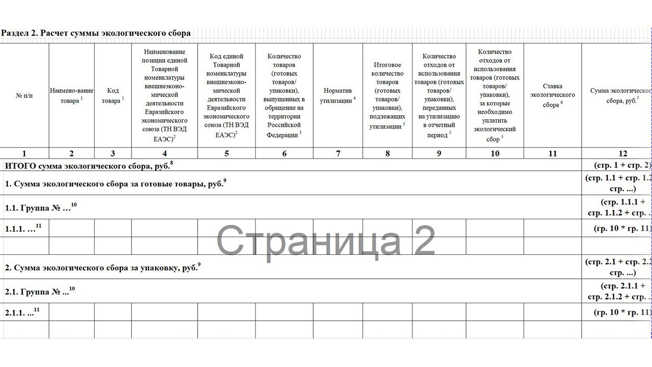 Как подать декларацию о соблюдении норматива утилизации продукции?
