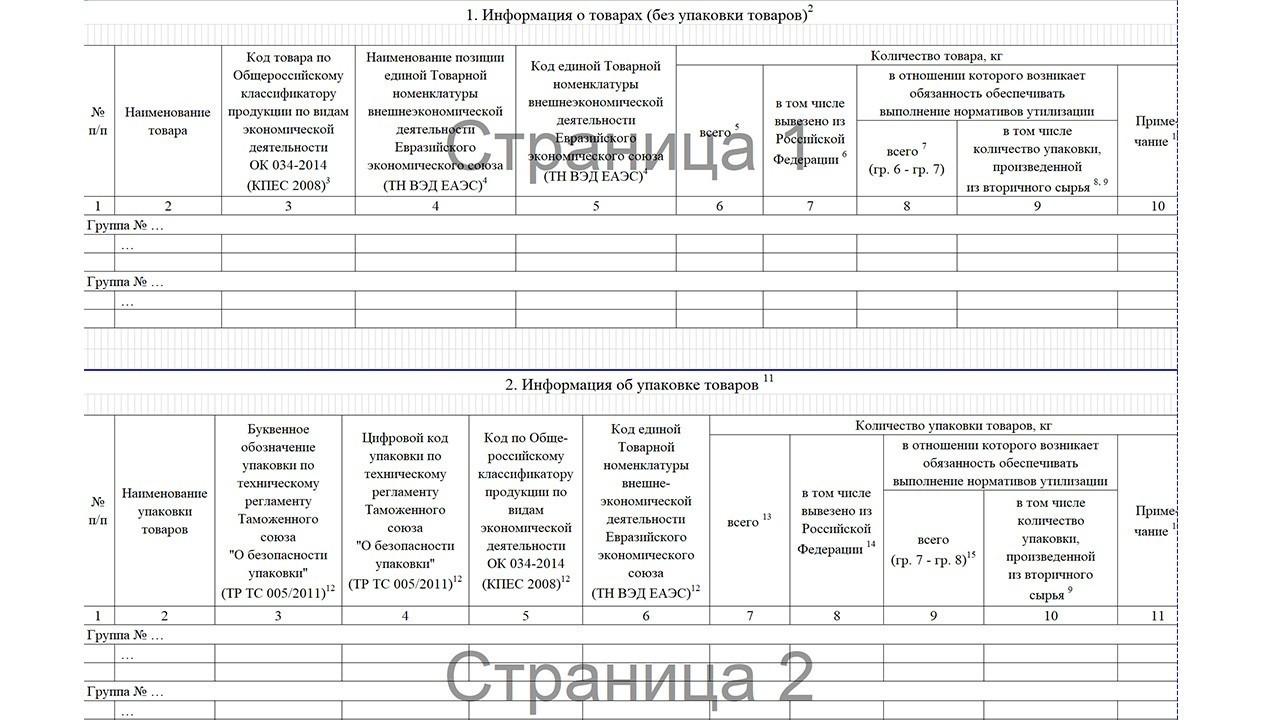 информационный документ о продукции